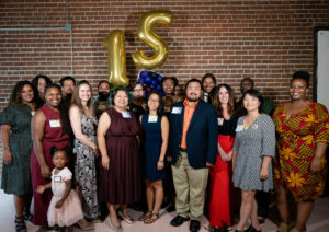 Nexus staff at 15th anniversary