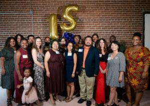 Nexus staff at 15th anniversary